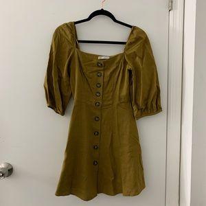 ZARA Button front dress